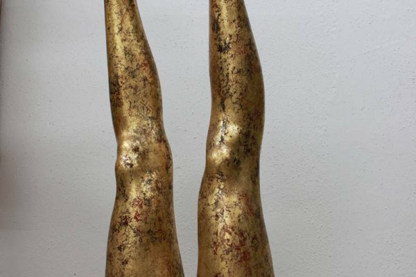 Beine dekorativ vergoldet - Goldcreartiv