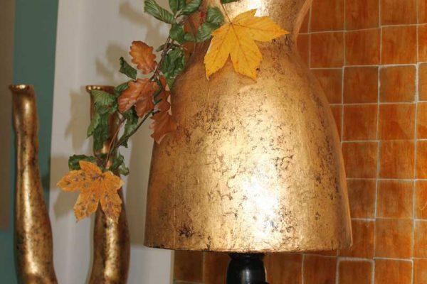 goldene Kleiderpuppe Herbst- Goldcreartiv
