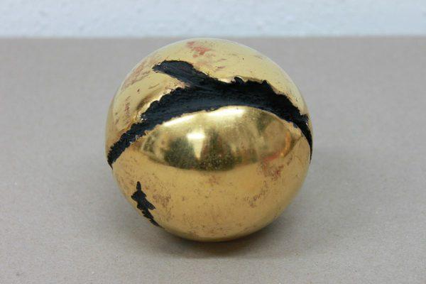 vergoldete Kugel - Goldcreartiv